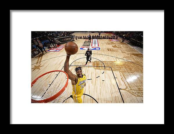 Nba Pro Basketball Framed Print featuring the photograph Dwight Howard by Jesse D. Garrabrant