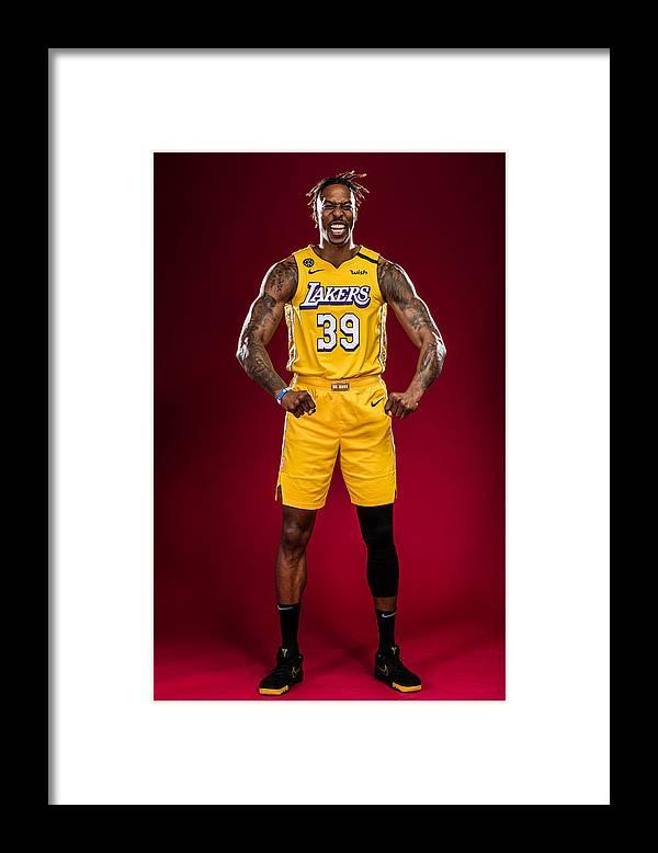 Nba Pro Basketball Framed Print featuring the photograph Dwight Howard by Michael J. LeBrecht II
