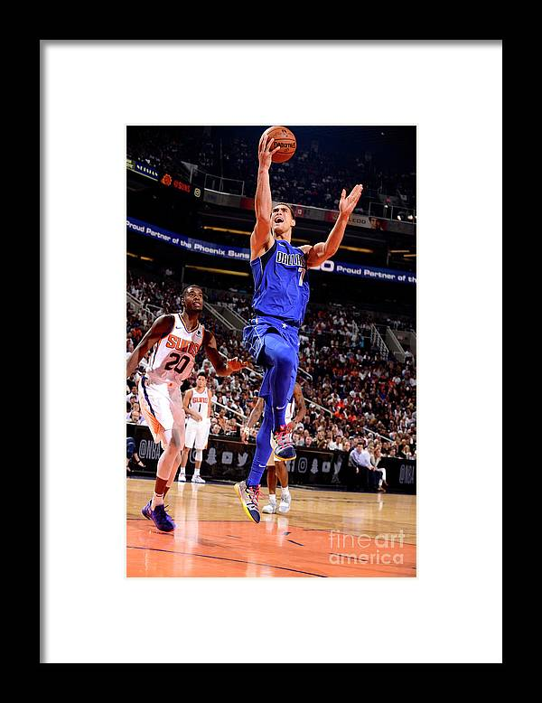 Dwight Powell Framed Print featuring the photograph Dwight Powell by Barry Gossage
