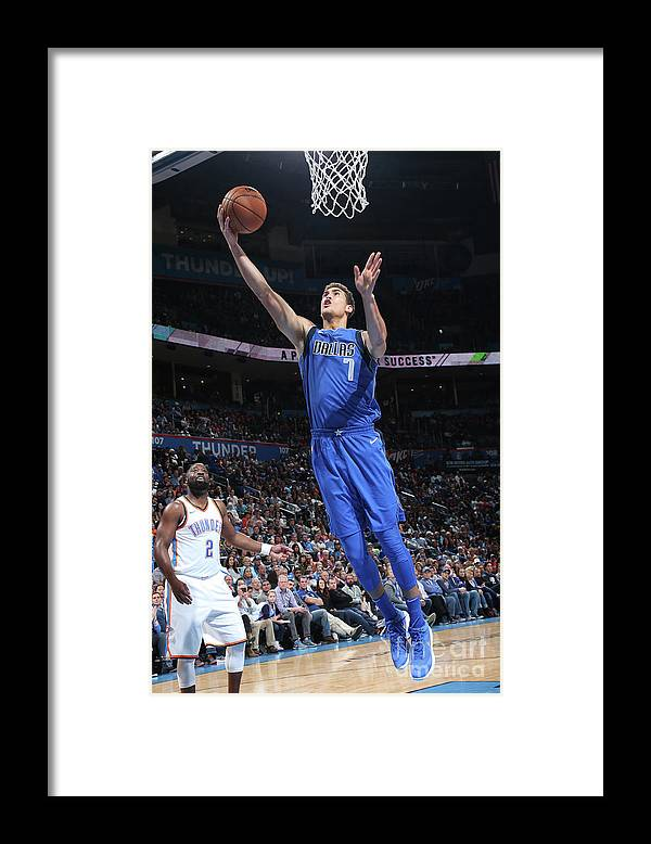 Dwight Powell Framed Print featuring the photograph Dwight Powell by Layne Murdoch