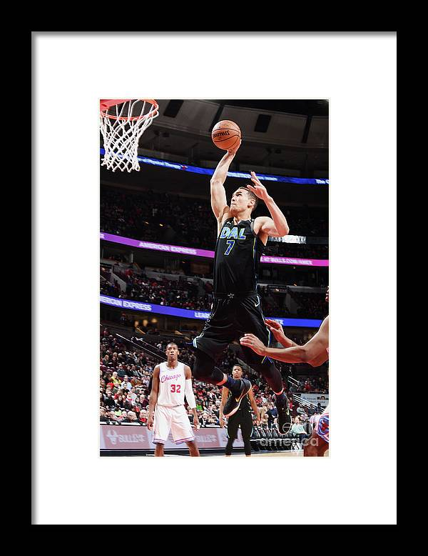 Dwight Powell Framed Print featuring the photograph Dwight Powell by Randy Belice