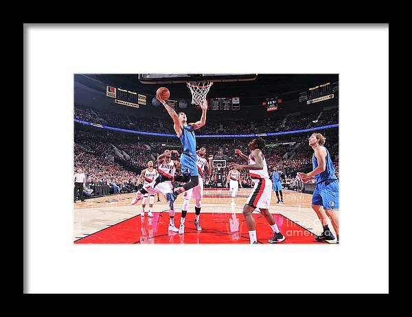 Dwight Powell Framed Print featuring the photograph Dwight Powell by Sam Forencich