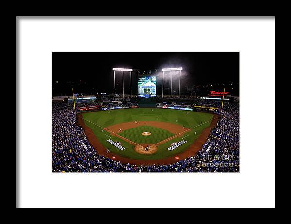 People Framed Print featuring the photograph Edinson Volquez by Doug Pensinger