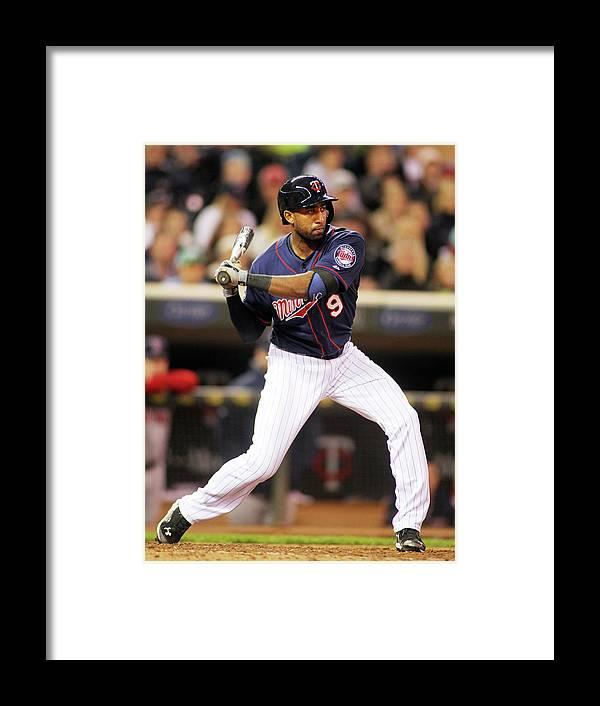 American League Baseball Framed Print featuring the photograph Eduardo Nunez by Andy King