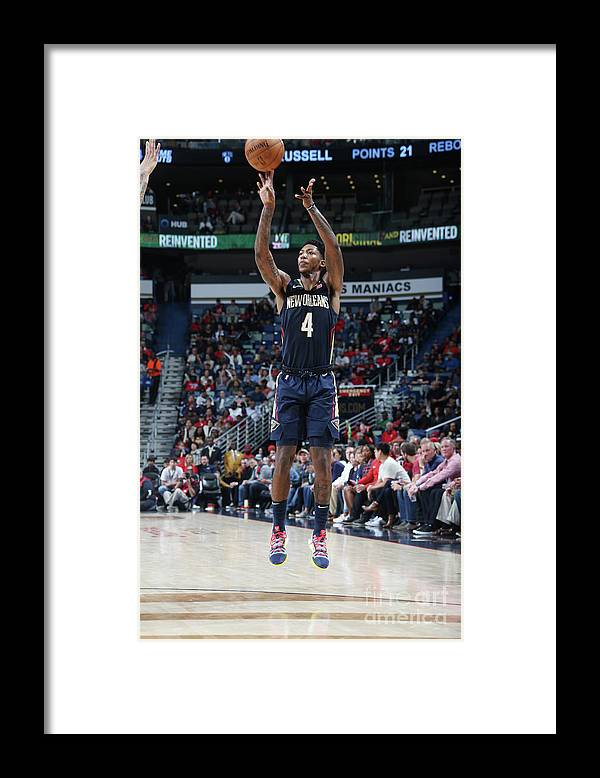 Smoothie King Center Framed Print featuring the photograph Elfrid Payton by Layne Murdoch