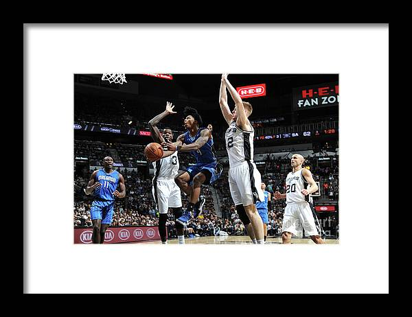 Nba Pro Basketball Framed Print featuring the photograph Elfrid Payton by Mark Sobhani