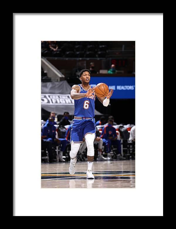 Nba Pro Basketball Framed Print featuring the photograph Elfrid Payton by Melissa Majchrzak