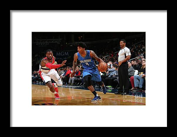 Nba Pro Basketball Framed Print featuring the photograph Elfrid Payton by Ned Dishman