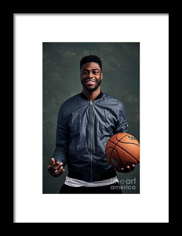Event Framed Print featuring the photograph Emmanuel Mudiay by Jennifer Pottheiser