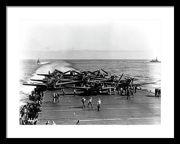 ENTERPRISE CARRIER - Battle of MIDWAY 1942 by Daniel Hagerman