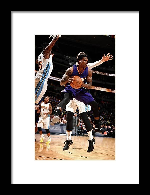 Nba Pro Basketball Framed Print featuring the photograph Eric Bledsoe by Garrett Ellwood