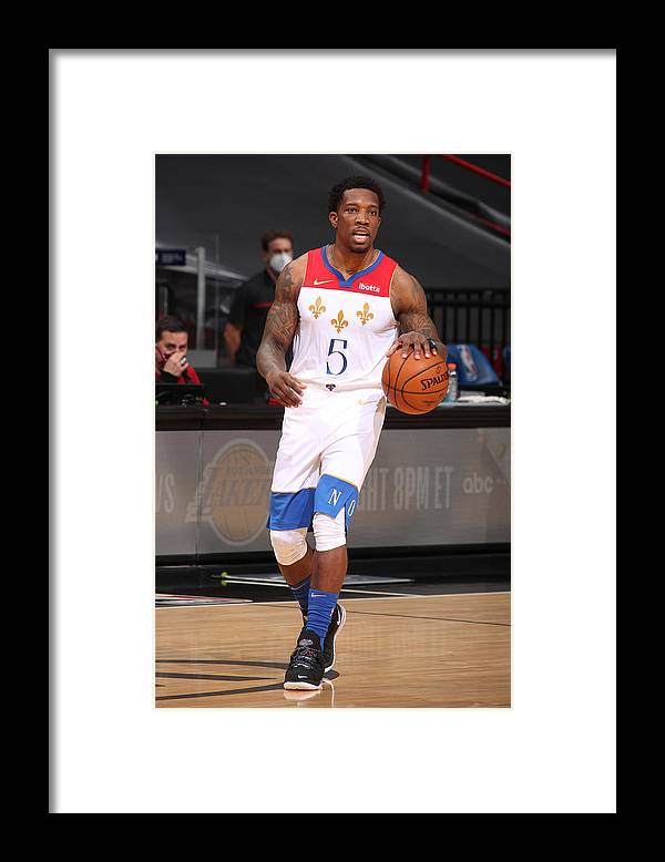 Nba Pro Basketball Framed Print featuring the photograph Eric Bledsoe by Issac Baldizon