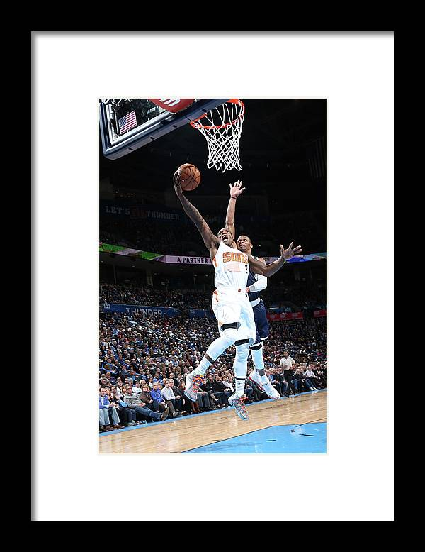 Nba Pro Basketball Framed Print featuring the photograph Eric Bledsoe by Layne Murdoch