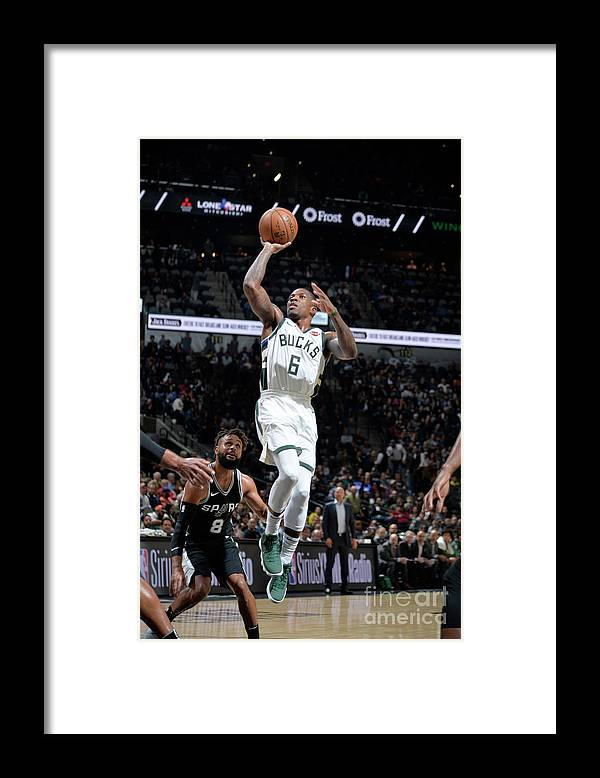 Nba Pro Basketball Framed Print featuring the photograph Eric Bledsoe by Mark Sobhani