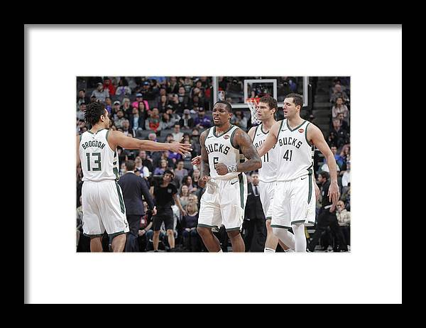 Nba Pro Basketball Framed Print featuring the photograph Eric Bledsoe by Rocky Widner