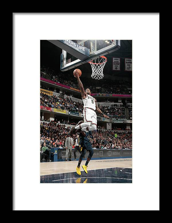 Nba Pro Basketball Framed Print featuring the photograph Eric Bledsoe by Ron Hoskins