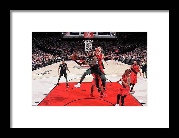 Nba Pro Basketball Framed Print featuring the photograph Eric Bledsoe by Sam Forencich