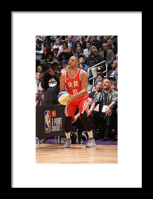 Event Framed Print featuring the photograph Eric Gordon by Andrew D. Bernstein