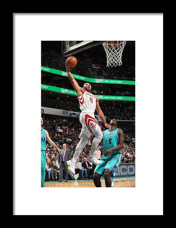 Nba Pro Basketball Framed Print featuring the photograph Eric Gordon by Kent Smith