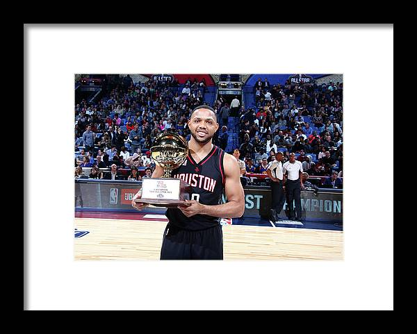 Event Framed Print featuring the photograph Eric Gordon by Nathaniel S. Butler