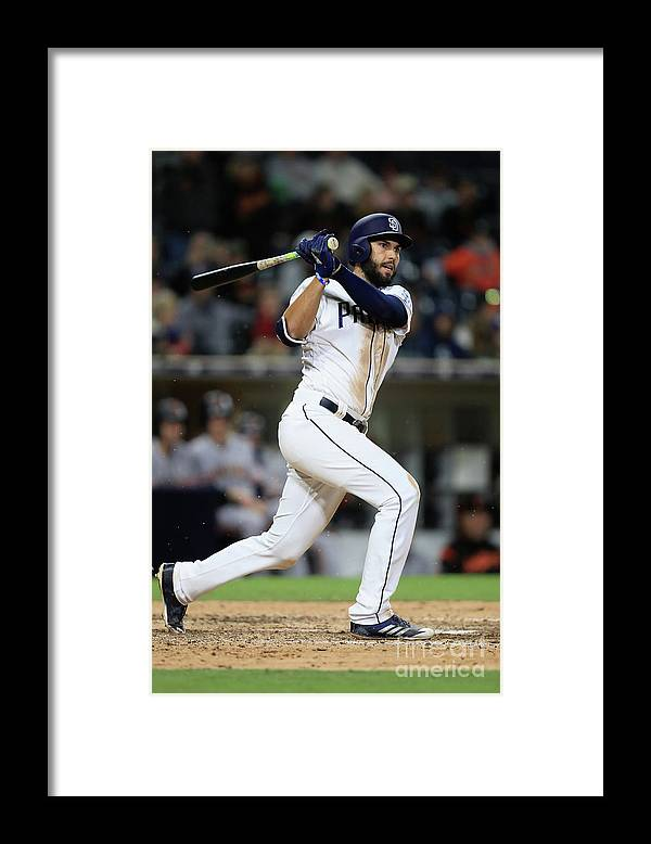 People Framed Print featuring the photograph Eric Hosmer by Sean M. Haffey