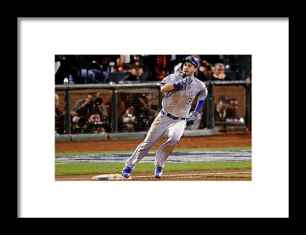 San Francisco Framed Print featuring the photograph Eric Hosmer by Thearon W. Henderson