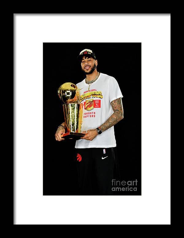 Playoffs Framed Print featuring the photograph Eric Moreland by Jesse D. Garrabrant