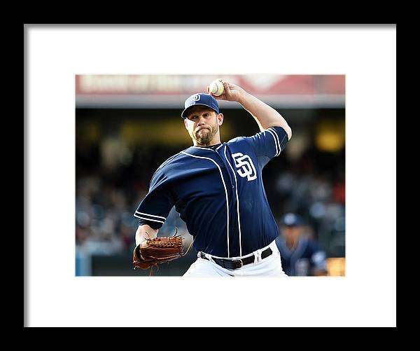 California Framed Print featuring the photograph Eric Stults by Denis Poroy