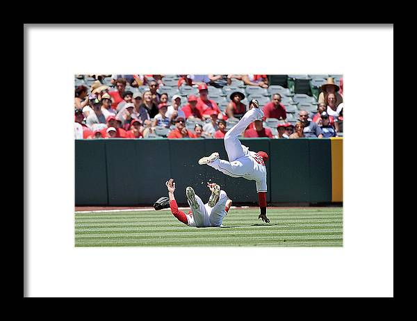 People Framed Print featuring the photograph Erick Aybar by Jonathan Moore