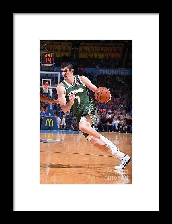 Nba Pro Basketball Framed Print featuring the photograph Ersan Ilyasova by Bill Baptist