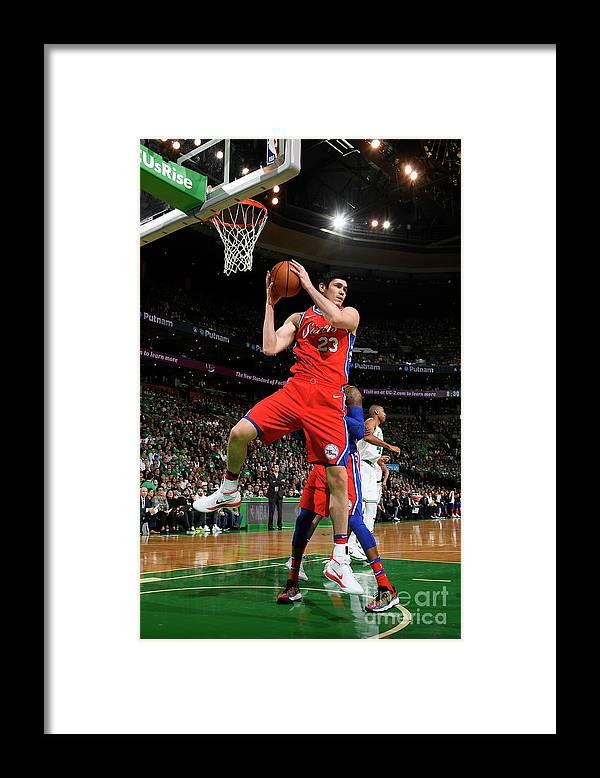Playoffs Framed Print featuring the photograph Ersan Ilyasova by Brian Babineau