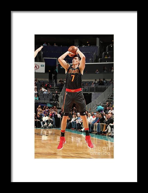 Nba Pro Basketball Framed Print featuring the photograph Ersan Ilyasova by Kent Smith