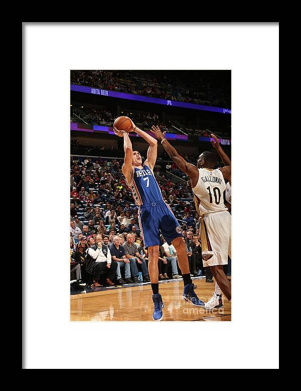 Smoothie King Center Framed Print featuring the photograph Ersan Ilyasova by Layne Murdoch