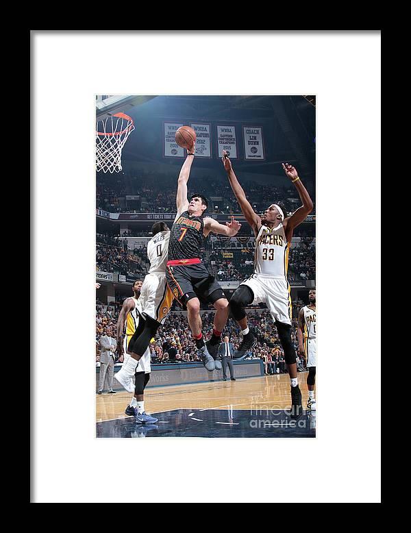 Nba Pro Basketball Framed Print featuring the photograph Ersan Ilyasova by Ron Hoskins