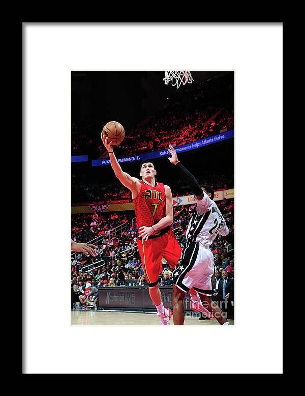 Atlanta Framed Print featuring the photograph Ersan Ilyasova by Scott Cunningham