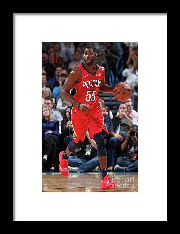 Nba Pro Basketball Framed Print featuring the photograph E'twaun Moore by Joe Murphy