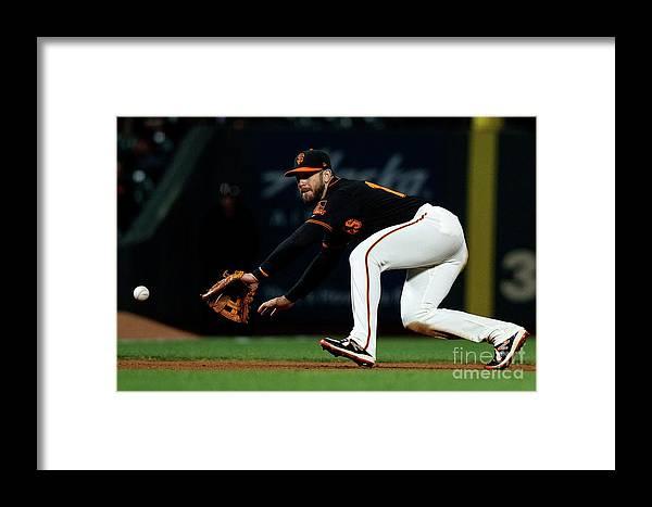 San Francisco Framed Print featuring the photograph Evan Longoria And Matt Holliday by Jason O. Watson