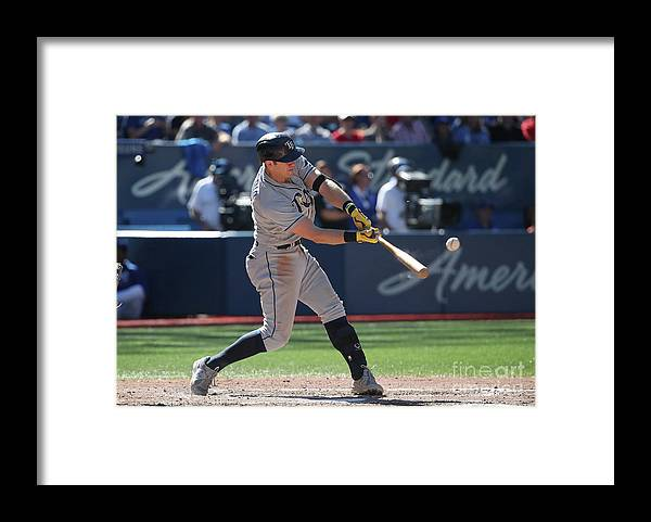 Ninth Inning Framed Print featuring the photograph Evan Longoria by Tom Szczerbowski
