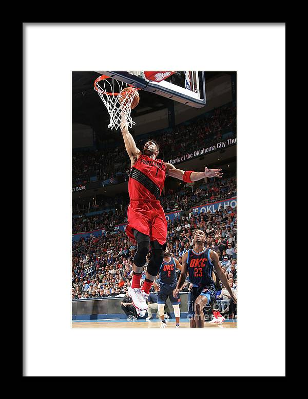 Sports Ball Framed Print featuring the photograph Evan Turner by Layne Murdoch