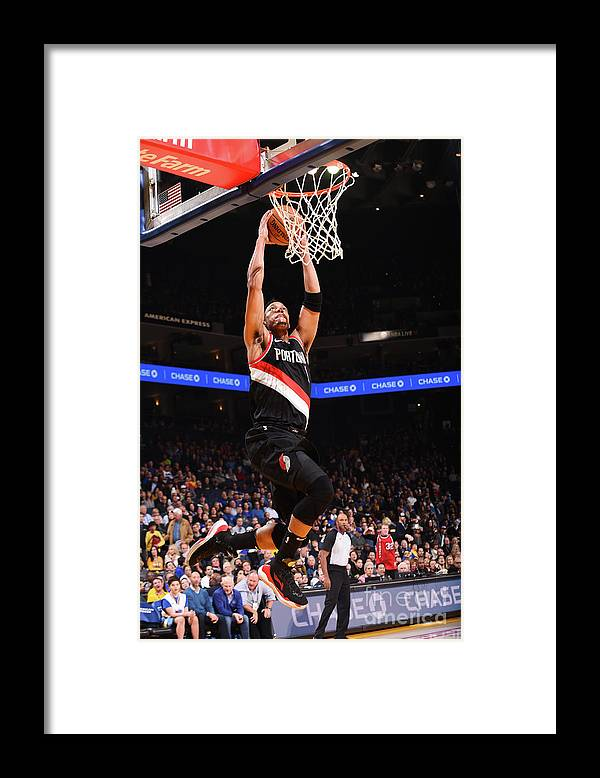 Nba Pro Basketball Framed Print featuring the photograph Evan Turner by Noah Graham