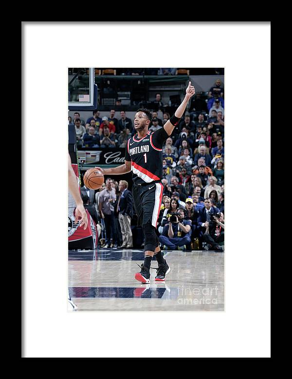 Nba Pro Basketball Framed Print featuring the photograph Evan Turner by Ron Hoskins