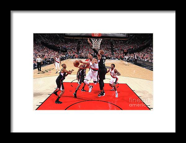 Nba Pro Basketball Framed Print featuring the photograph Evan Turner by Sam Forencich