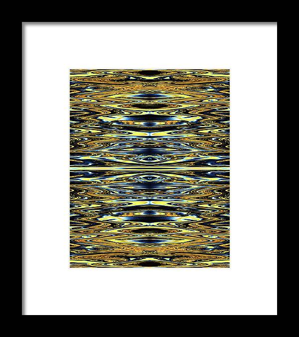 Abstract Framed Print featuring the digital art Eye Do Know by Jack Entropy
