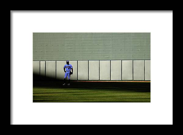 Ninth Inning Framed Print featuring the photograph Fielder Jones by Rob Carr