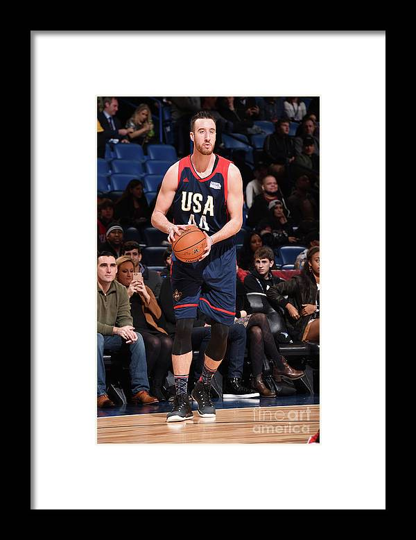 Event Framed Print featuring the photograph Frank Kaminsky by Andrew D. Bernstein