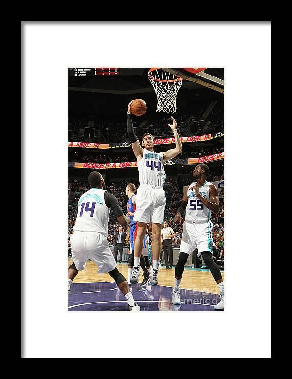 Nba Pro Basketball Framed Print featuring the photograph Frank Kaminsky by Brock Williams-smith