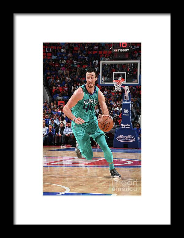 Nba Pro Basketball Framed Print featuring the photograph Frank Kaminsky by Chris Schwegler