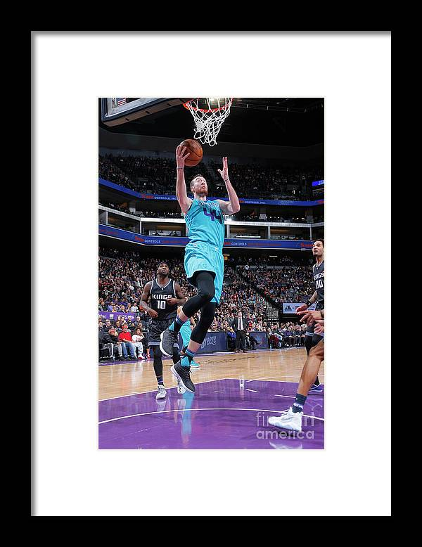 Nba Pro Basketball Framed Print featuring the photograph Frank Kaminsky by Rocky Widner