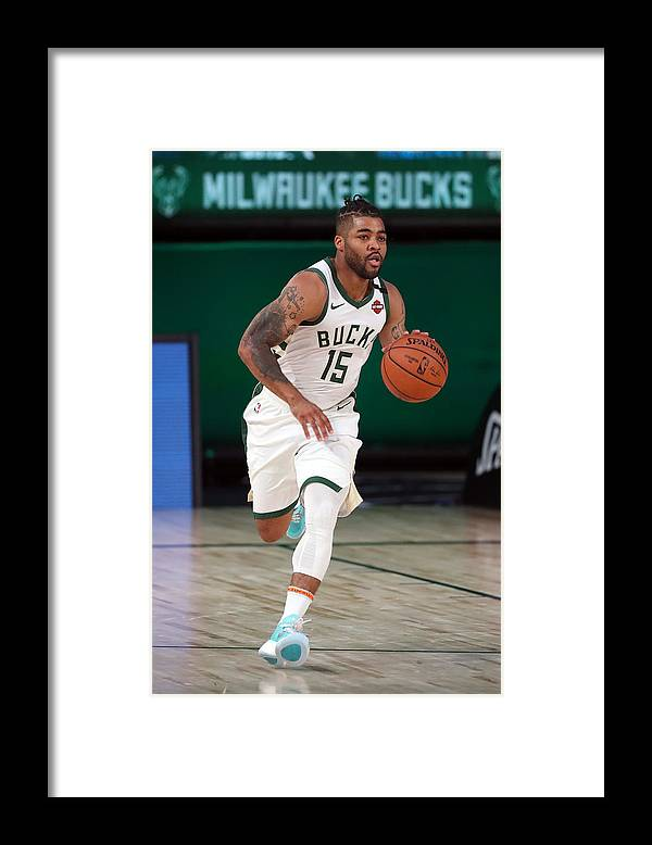 Nba Pro Basketball Framed Print featuring the photograph Frank Mason by Joe Murphy