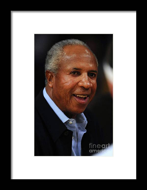 Nba Pro Basketball Framed Print featuring the photograph Frank Robinson by Noah Graham